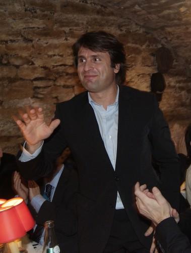 Le tenisman Fabrice Santoro