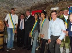 Alain Bernard, Muriel Hurtis, Floria Gueix et leurs amis
