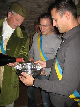 Les frères Guenot, médaille d'or et de bronze en 2008